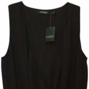 Lauren Ralph Lauren Black Top Size M  NWT